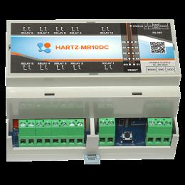 Релейный модуль на 10 каналов HARTZ-MR10DC фото #8