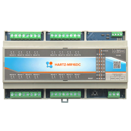 Релейный модуль на 16 каналов HARTZ-MR16DC фото #13