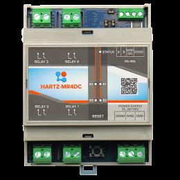 Релейный модуль на 4 канала HARTZ-MR4DC фото #13