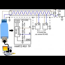 Преобразователь данных интерфейса USB в RS485 HARTZ-RS1 TP фото #7