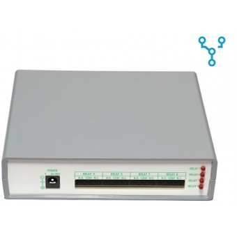 REX-4R8 (модуль управления нагрузкой на 8 релейных каналов)