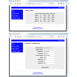 Интернет реле на 4 релейных канала RODOS-10 Open Frame  фото #3