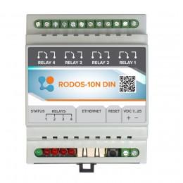 Ethernet реле на DIN рейку на 4 релейных канала RODOS-10N DIN фото #19