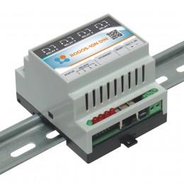 Ethernet реле на DIN рейку на 4 релейных канала RODOS-10N DIN фото #20