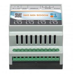 Ethernet реле на DIN рейку на 4 релейных канала RODOS-10N DIN фото #8