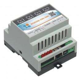 Ethernet реле на DIN рейку на 4 релейных канала RODOS-10N DIN фото #9