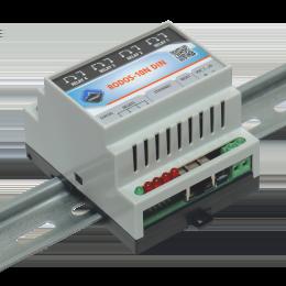 Ethernet реле на DIN рейку на 4 релейных канала RODOS-10N DIN