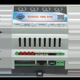 Ethernet реле на DIN рейку на 4 релейных канала RODOS-10N DIN фото #15