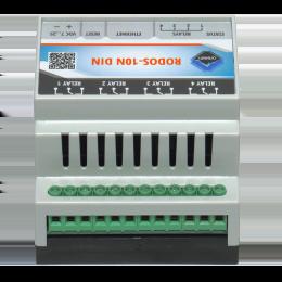 Ethernet реле на DIN рейку на 4 релейных канала RODOS-10N DIN фото #13