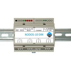 Ethernet реле на DIN рейку на 4 релейных канала RODOS-10 DIN