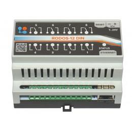 Ethernet реле на DIN рейку на 8 релейных каналов RODOS-12 DIN фото #10