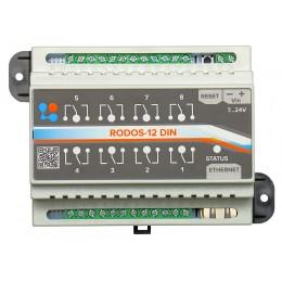 Ethernet реле на DIN рейку на 8 релейных каналов RODOS-12 DIN фото #9