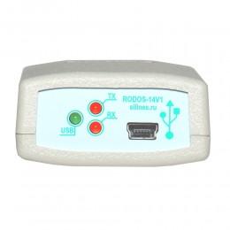 Изолированный преобразователь интерфейсов USB-RS485/RS422 RODOS-14N фото #2
