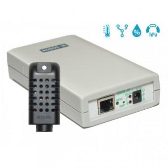 Интернет термостат/гигростат c 2-мя релейными каналами и логическими входами/выходами RODOS-16   фото #1
