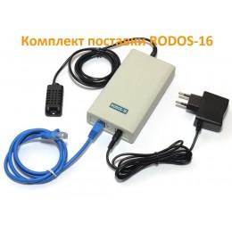 Интернет термостат/гигростат c 2-мя релейными каналами и логическими входами/выходами RODOS-16   фото #8