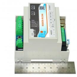 Интернет термостат/гигростат c 2-мя релейными каналами и логическими входами/выходами RODOS-16 DIN фото #6