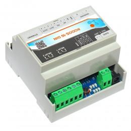 Интернет термостат/гигростат c 2-мя релейными каналами и логическими входами/выходами RODOS-16 DIN фото #7