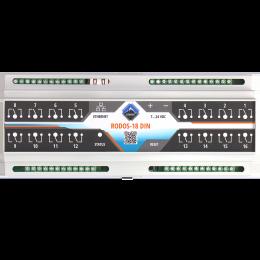 Ethernet реле на DIN рейку на 16 релейных канала RODOS-18 DIN фото #2