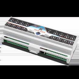 Ethernet реле на DIN рейку на 16 релейных канала RODOS-18 DIN фото #5