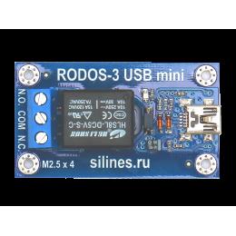 USB реле RODOS-3 c разъемом mini USB фото #7