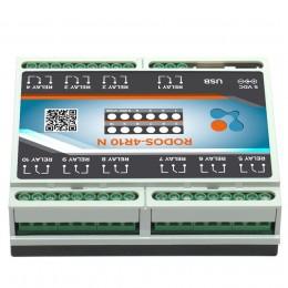 USB реле на 10 релейных каналов RODOS-4R10 N фото #11