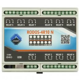 USB реле на 10 релейных каналов RODOS-4R10 N фото #10