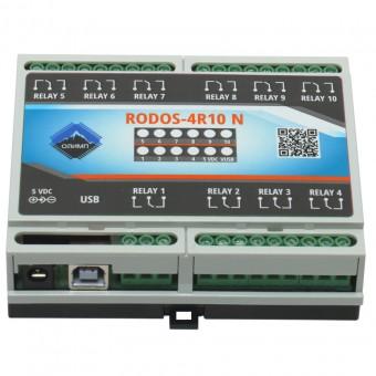 USB реле на 10 релейных каналов RODOS-4R10 N фото #1