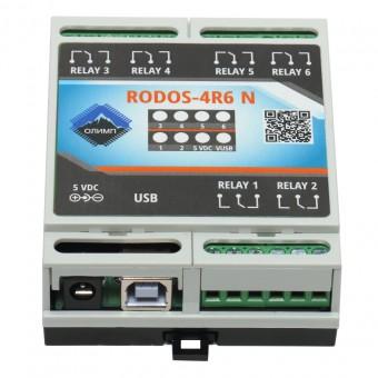 USB реле на 6 релейных каналов RODOS-4R6 N фото #1