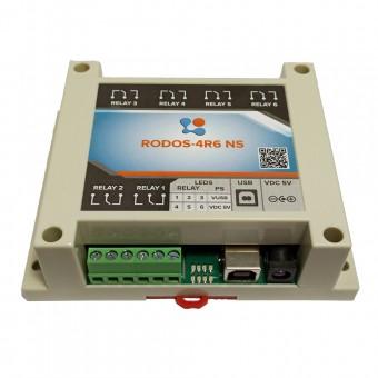 USB реле на 6 релейных каналов RODOS-4R6 NS