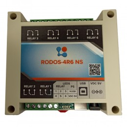 USB реле на 6 релейных каналов RODOS-4R6 NS фото #5