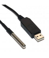 USB термометр с выносным влагозащищенным датчиком RODOS-5B