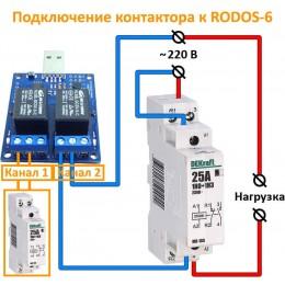 USB термостат c 2 релейными каналами RODOS-6  фото #8