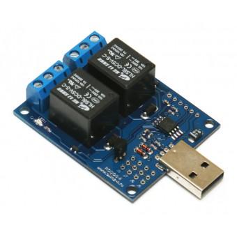 USB термостат c 2 релейными каналами RODOS-6