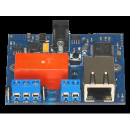 Интернет реле на DIN рейку на 1 релейных канала RODOS-8 Open Frame