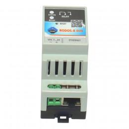 Ethernet реле на DIN рейку на 1 релейных канала RODOS-8 DIN фото #4