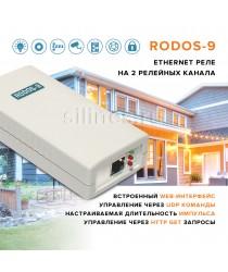 Ethernet реле на 2 релейных канала RODOS-9