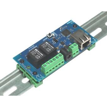 Интернет реле на DIN рейку на 2 релейных канала RODOS-9 Open Frame