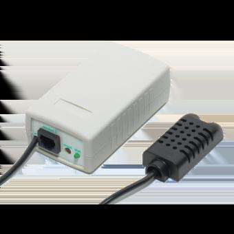 Интернет термометр, барометр, гигрометр SMALL METEO V.4 с датчиком температуры/влажности длиной 3 метра фото #1