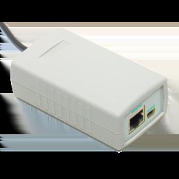 Интернет термометр, барометр, гигрометр SMALL METEO V.4 с датчиком температуры/влажности длиной 3 метра фото #4