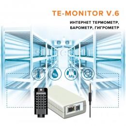 Интернет термометр, барометр, гигрометр TE-MONITOR V.6
